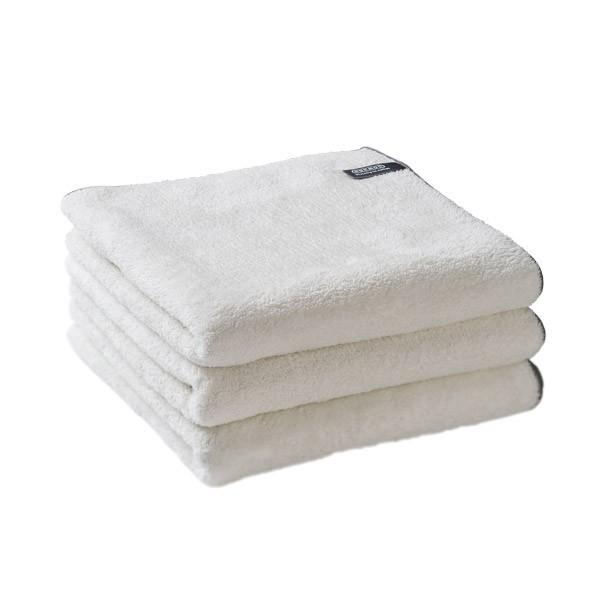 Home-Handtuch weiß-grau